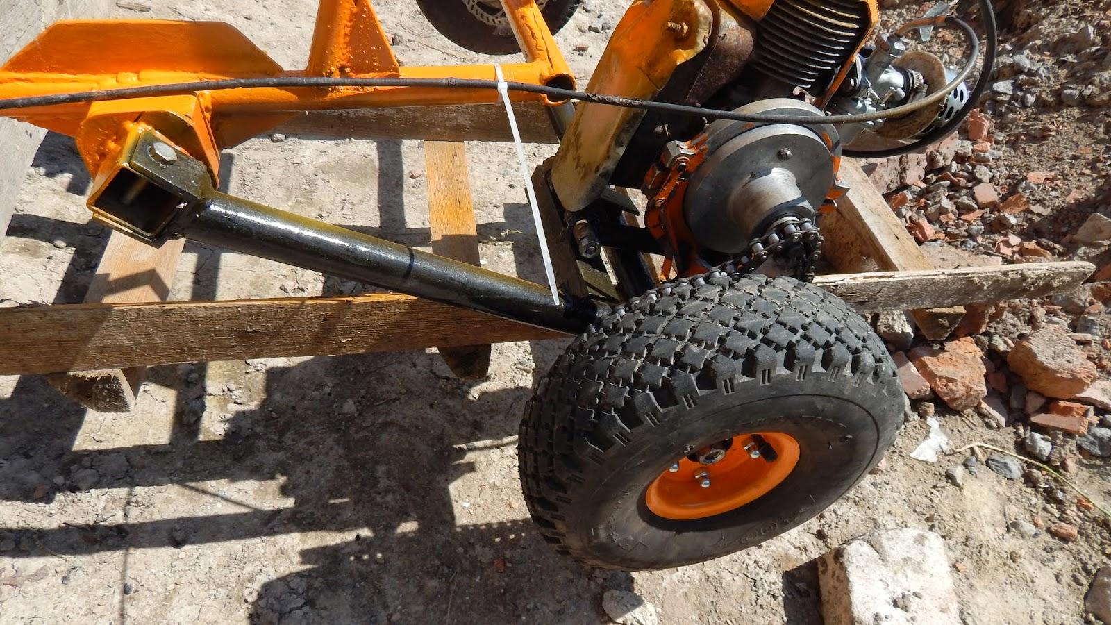 Трициклы своими руками из бензопилы