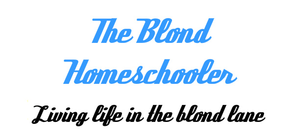 The Blonde Homeschooler