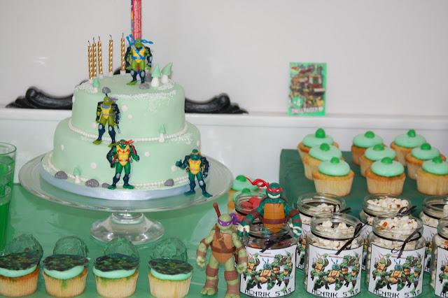 Turtles kake