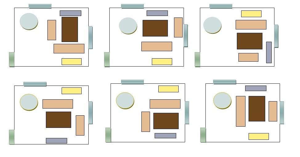 Salon Peque O Familia Designres In Home Proyectos - Distribucion ...