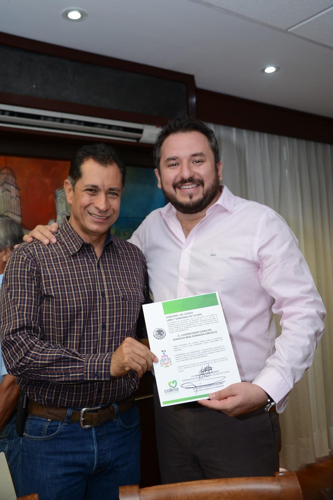 Gobcol carlos maldonado orozco nuevo presidente del for Viveros en maldonado