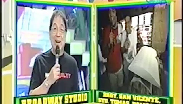 Wally Bayola pretend to be in a coffin