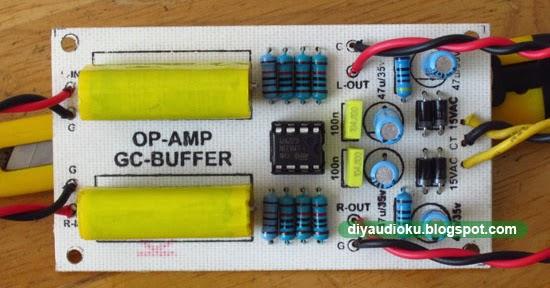 diy audio elektronika buffer gainclone berbasis op amp. Black Bedroom Furniture Sets. Home Design Ideas