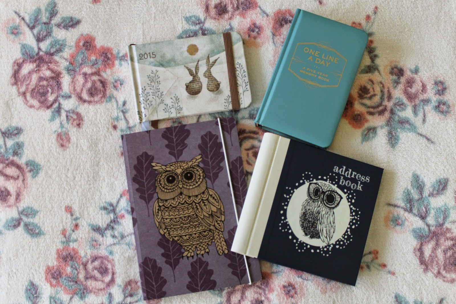 2015 Diary, Notebook and Address Book Christmas Present