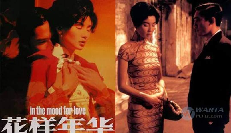 Sinopsis Foto poster In the Mood for Love (2000) movie film romantis Hongkong terbaik