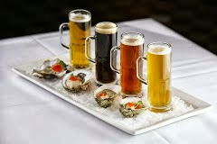 Come And Try Chef King's Beer & Oyster Flight!