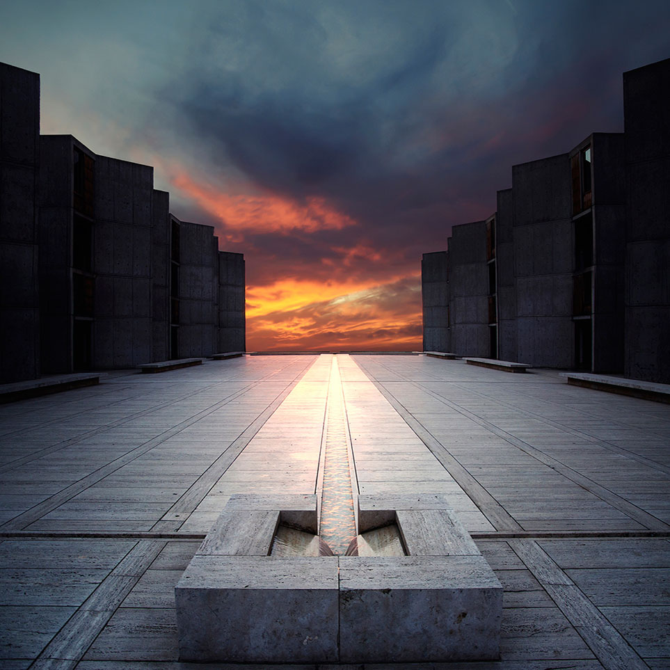 Louis I Kahn Architect Quot Salk Institute Quot 1959 1966