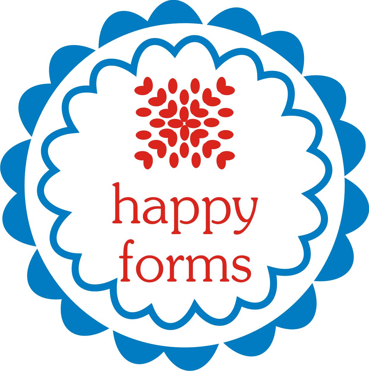 Malowana Skrzynia to teraz Happy Forms! Zapraszam na nowego bloga!