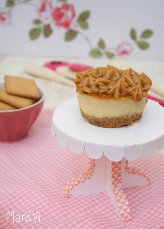 Recetas dulces, cheesecake de dulce de leche