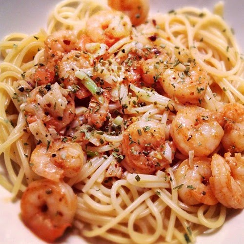 http://secretcopycatrestaurantrecipes.com/bennigans-shrimp-and-pasta-recipe/