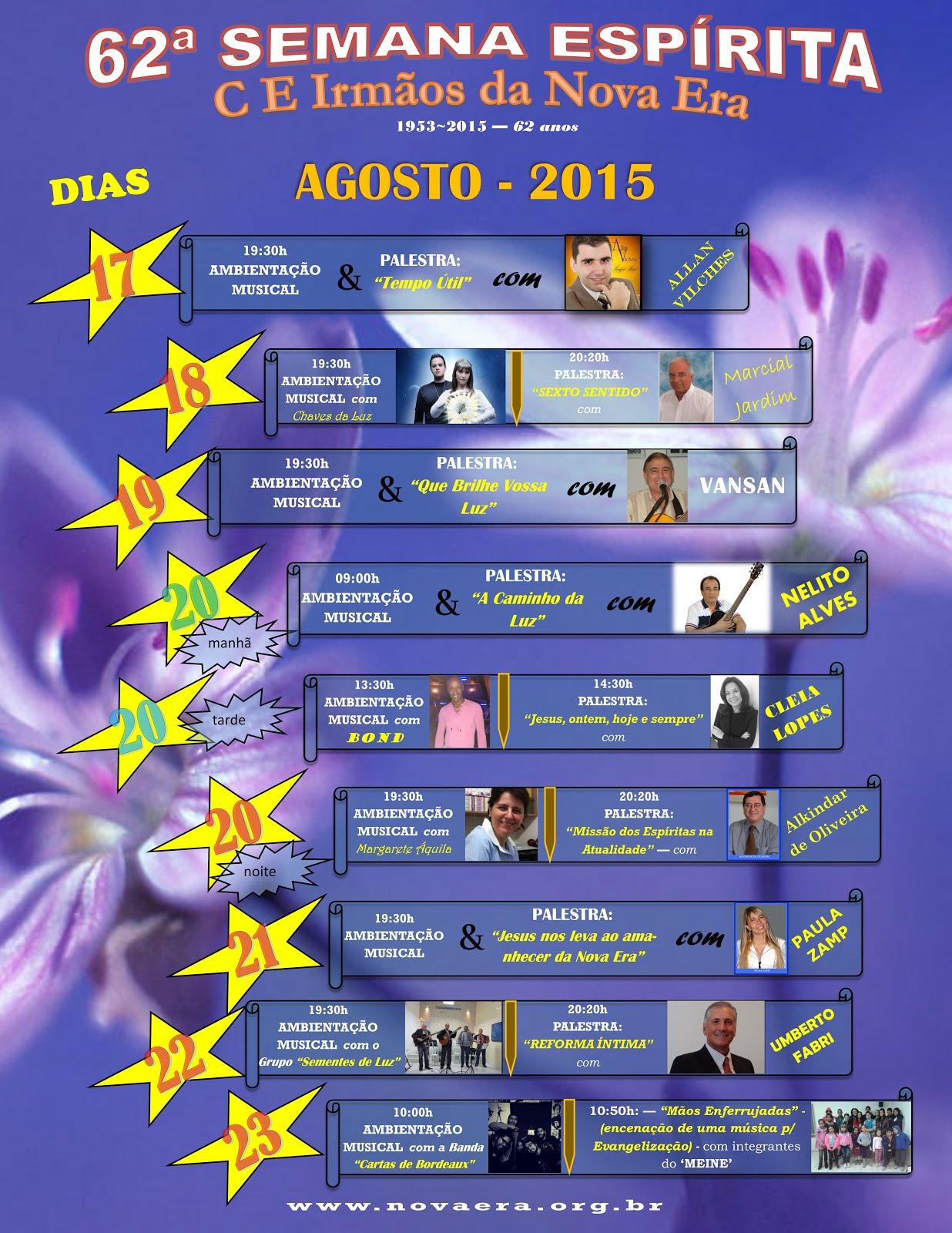 Semana Espírita 2015