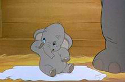 Baby Dumbo Dumbo 1941 animatedfilmreviews.blogspot.com