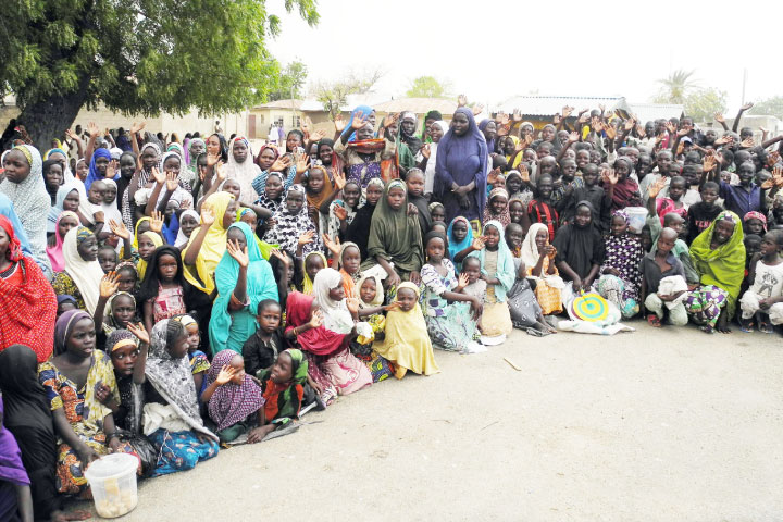 IDPs Camp in Damaturu
