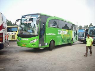 Green Jetbus Trans zentrum
