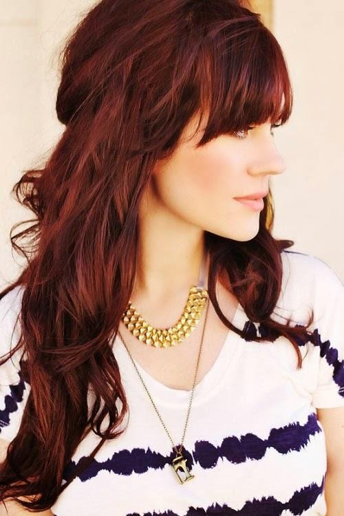 Ashley Amanda My New Hair Blondebrown To Medium Brown Red Mahogany