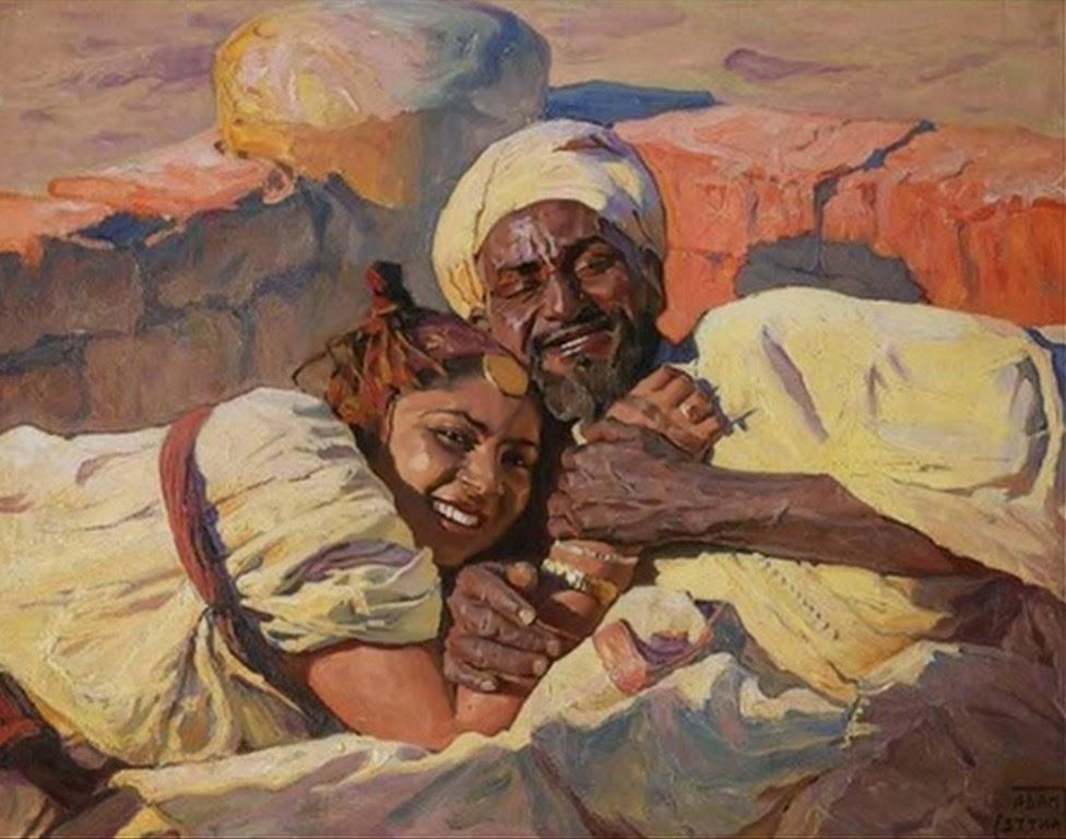 retratos-de-mujeres-con-hombres-al-oleo