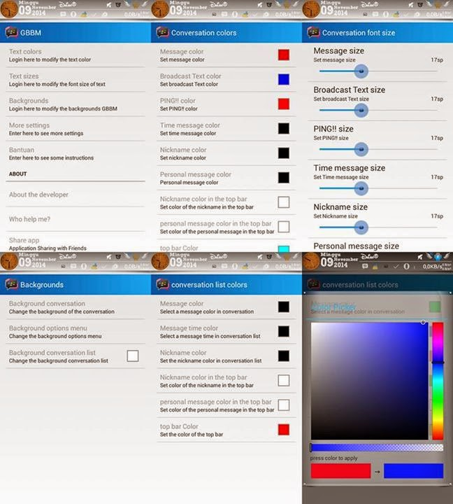 BBM Full Mod Versi 2.5.1.46