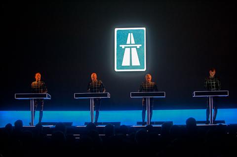 Kraftwerk no MoMA em NY