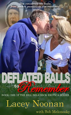 new Bill Belichick balls book funny by Lacey Noonan