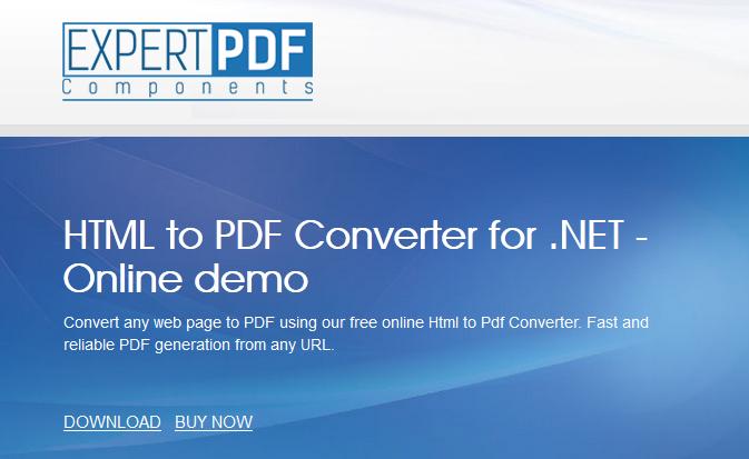 تحويل صفحات المواقع إلى pdf