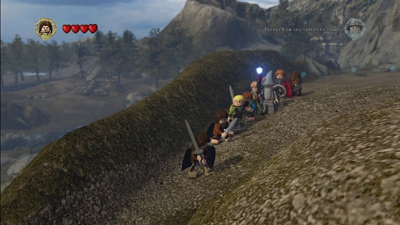 lego the lords of the rings pc screenshot gameplay www.ovagames.com 1 LEGO The Lord of the Rings RePack PC Game