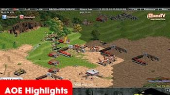 AOE Highlights, No1 cầm Cathar Time chém to nhất bản đồ