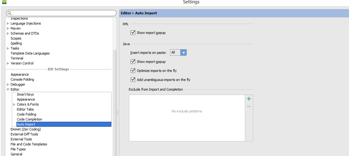 Amar's Android Tech: How to import all packages in android studio