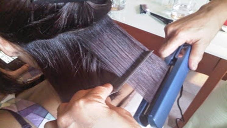 Cauterización del cabello
