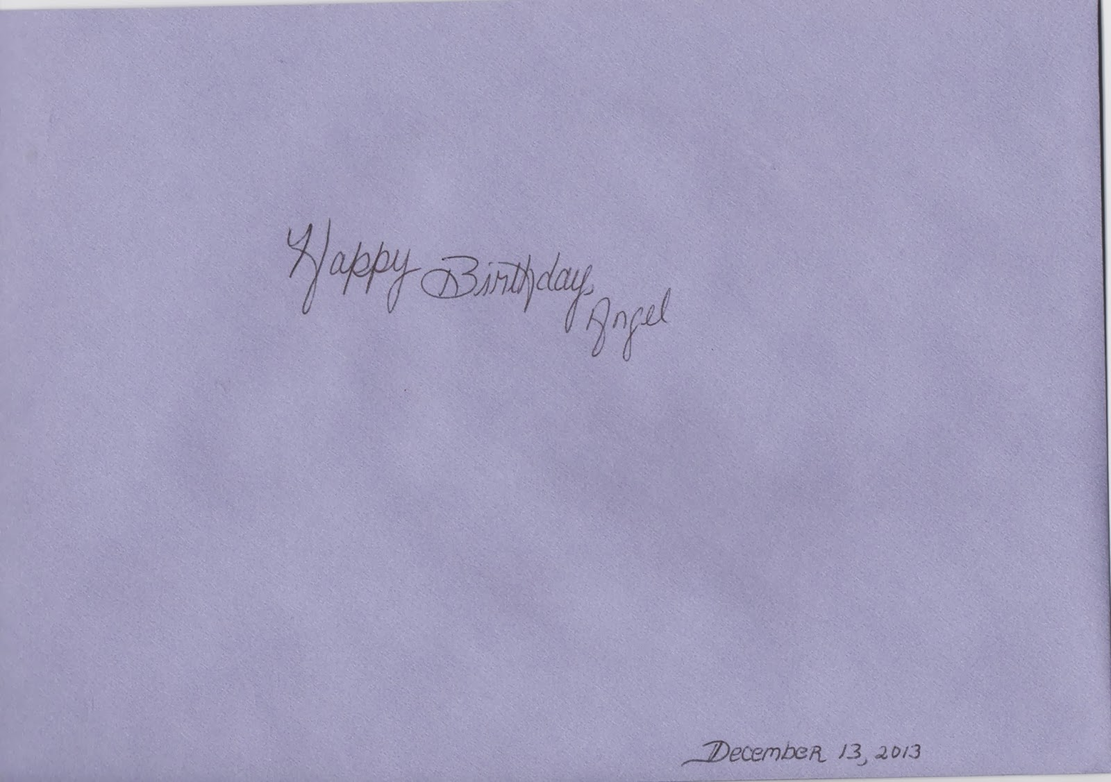 Strands of pattern happy birthday angel baby envelope bookmarktalkfo Images