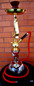 In a hookah, the Shisha or flavored tobacco smoke passes through a water basin before you get to inhale the highly addictive and relaxing chemical. The use of hookah pipes actually started and originated first in Persia and then it became popular in all middle eastern region and many other countries .
