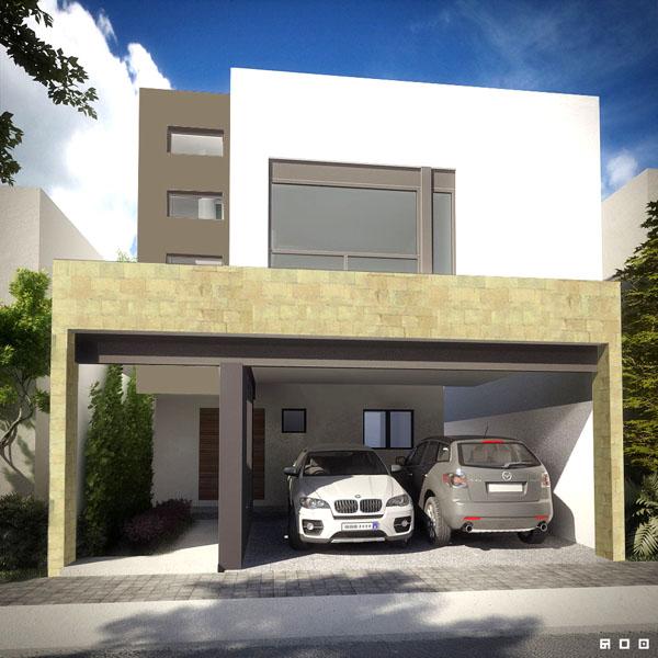 Casas en venta y departamentos casa muestra decorada de for Casas nuevas minimalistas