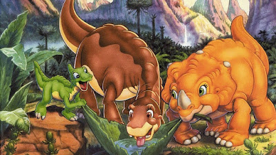 Mewarnai Gambar The Land Before Time