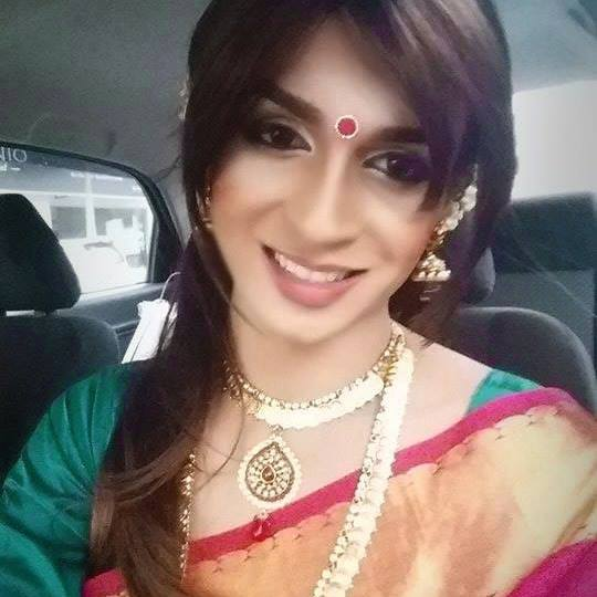Indian Crossdresser Sarisha Nair