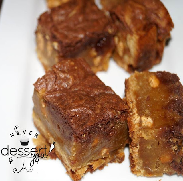 Nutella Swirl Blondies