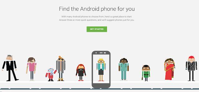جوجل تساعدك على شراء هاتف أندرويد المناسب لك
