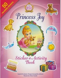 princess joy stick and activity book cover