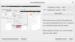 Cómo usar RecordMyDesktop en Fedora 20 con Gnome 3, tutorial fedora 20,