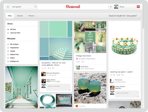 Pinterest Screen 4