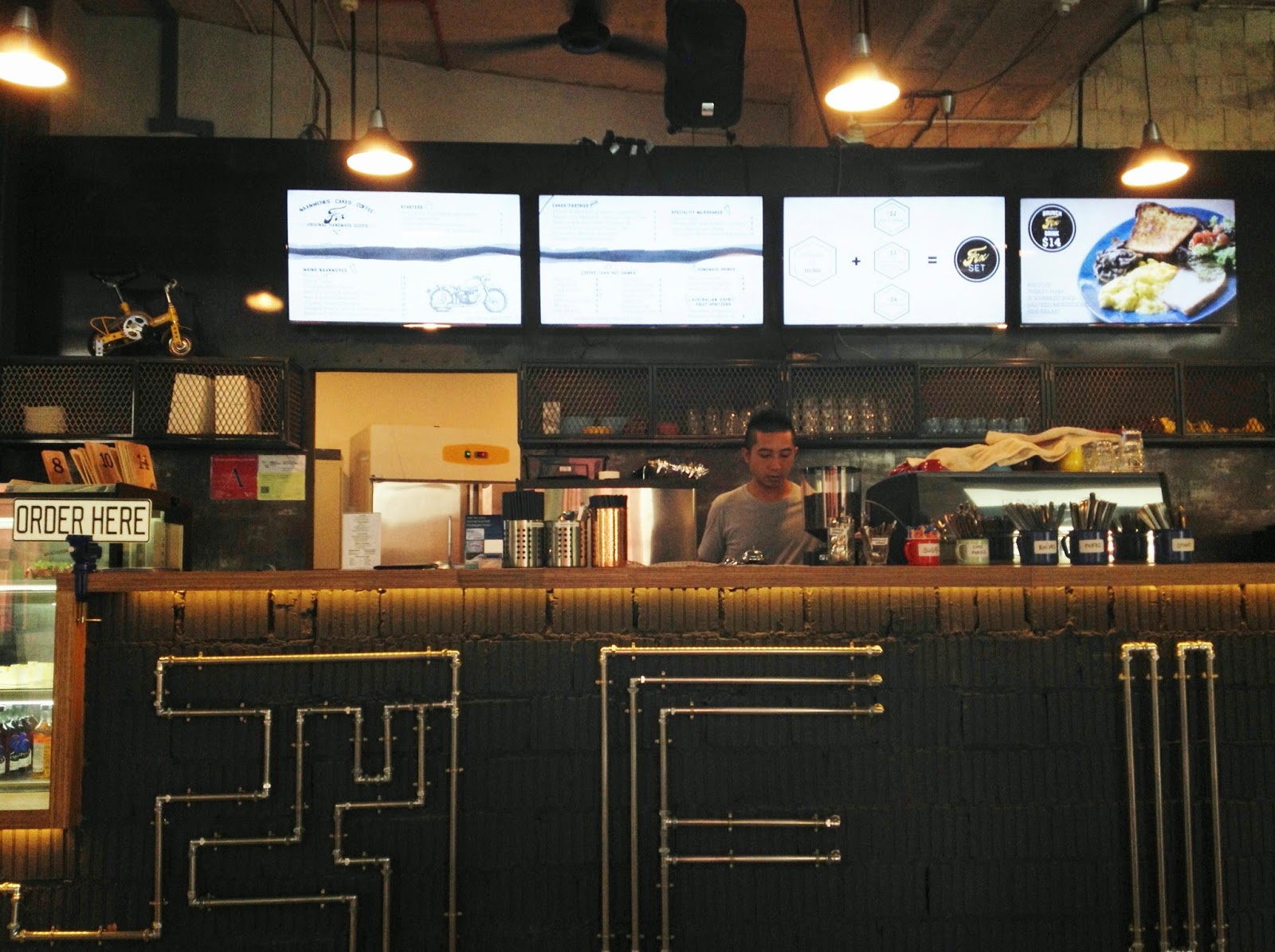Fix Cafe Toa Payoh Menu