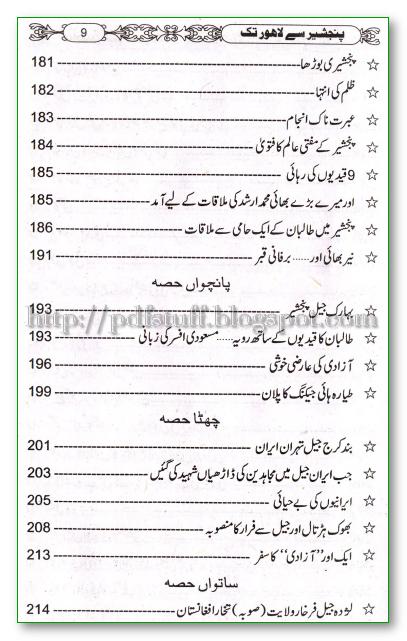 Panjshir se Lahore tak pdf