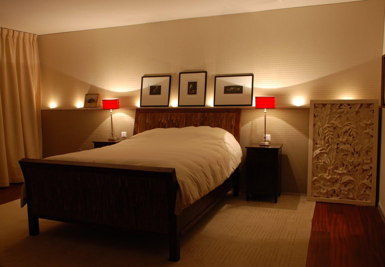 Luxury apartment in herrliberg master bedroom at night for Bedroom night