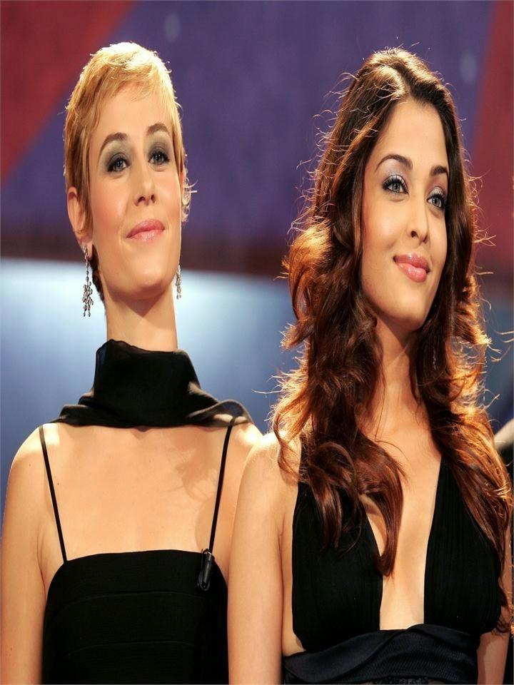 aishwarya rai with her friend hot sexy pics of hot bollywood bikini actresses