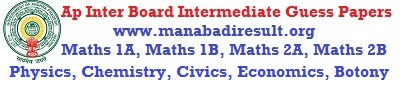 intermediate maths 1a model papers Ts inter question papers, model papers, previous year papers free download from manabadicom.