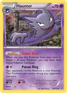 Haunter BREAKthrough Pokemon Card