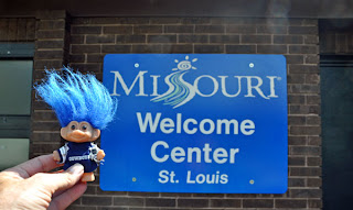 Route 66 Missouri Welcome Center St Louis Troll
