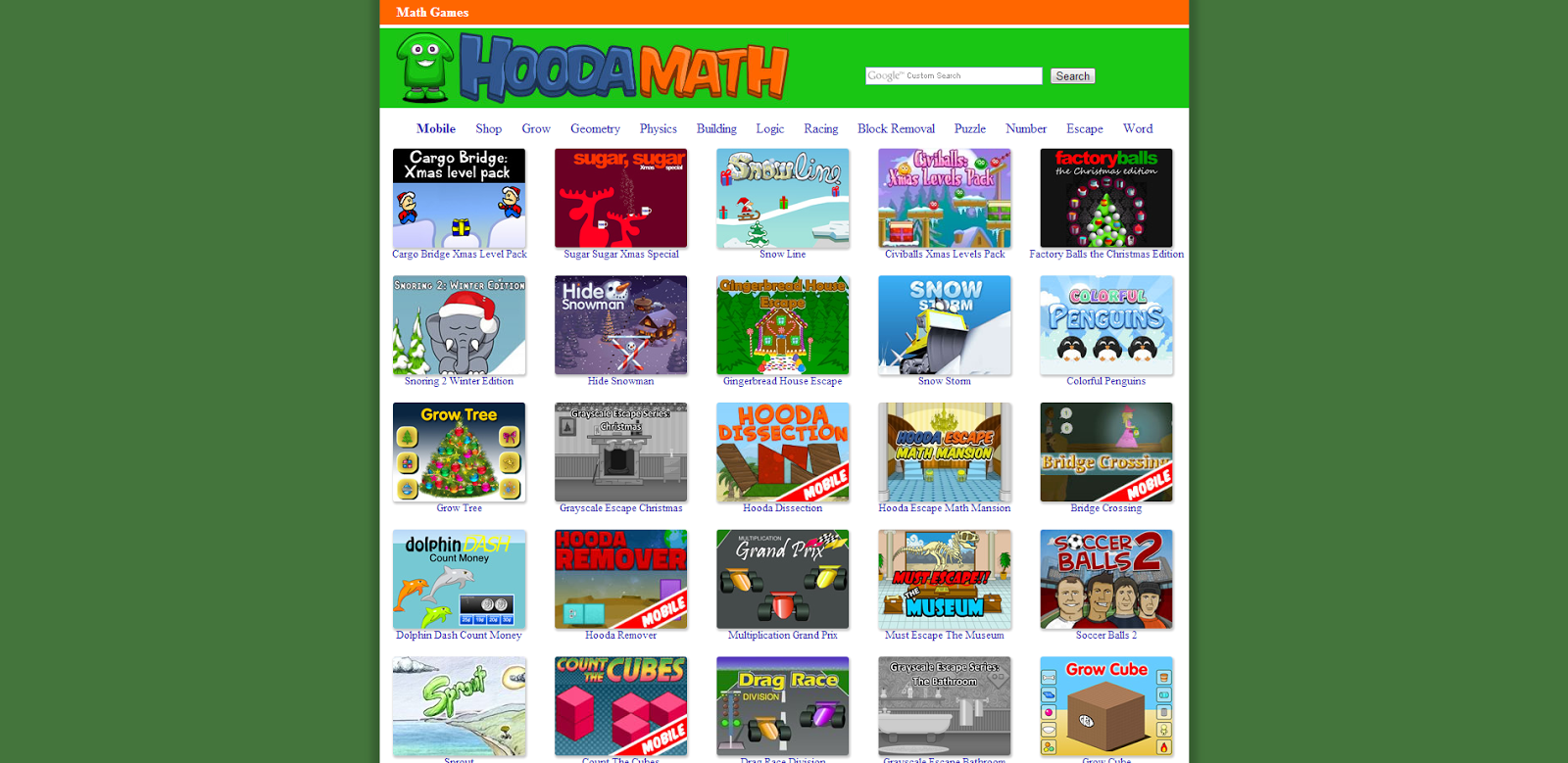 Hooda math games math games hooda math over 400 math games png