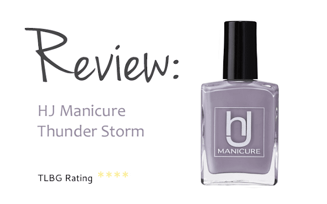 Review: HJ Manicure Thunder Storm