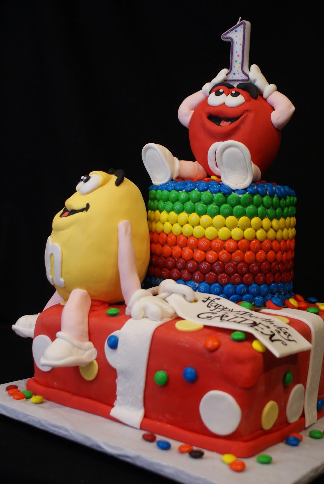 A keen cake impression my mms - Impression gateau ...