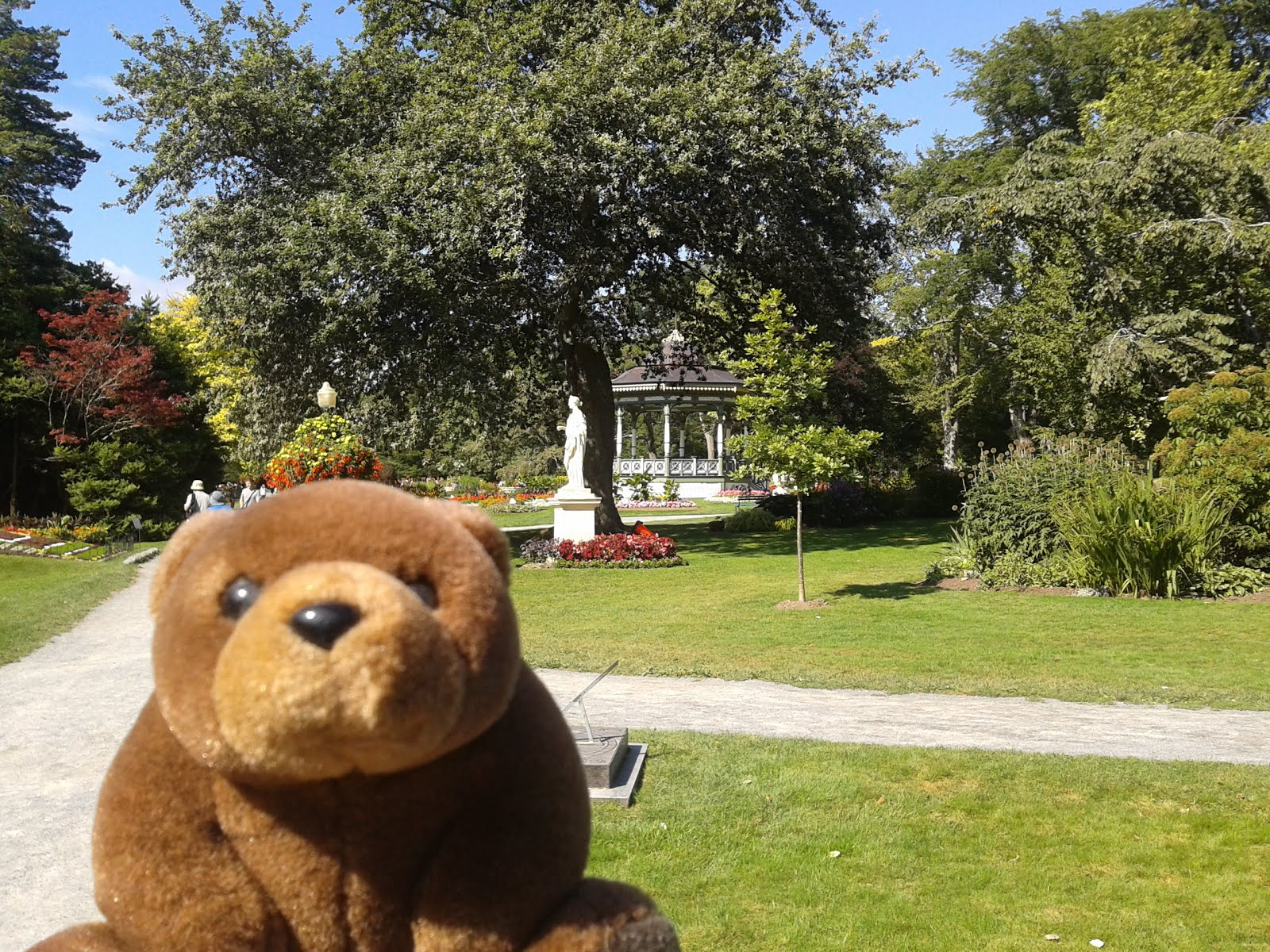 Teddy Garden in Halifax, Canada