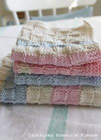 Cathrine Design: Gratis oppskrift på håndkle- og klut med ruter!